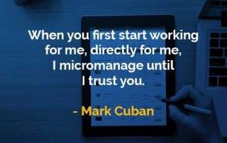 Kata-kata Bijak Mark Cuban Pertama Kali Mulai Bekerja - Finansialku