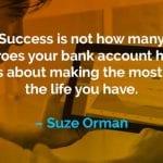 Kata-kata Motivasi Suze Orman Memaksimalkan Hidup - Finansialku