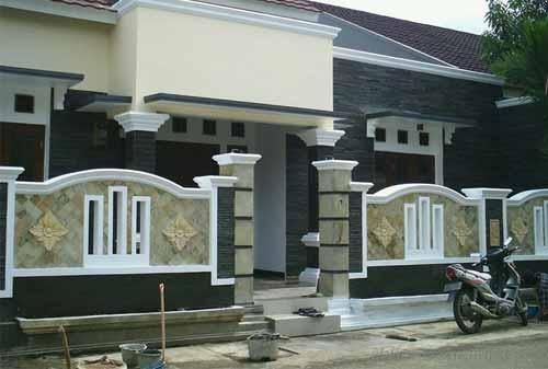 Pagar Rumah 03 (Model Pagar Tembok) - Finansialku