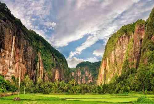 Lokasi Panjat Tebing 09 Tebing Lembah Harau Limapuluh - Finansialku