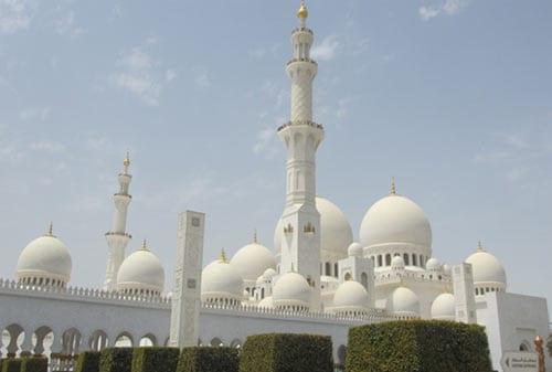 Sheikh Zayed Mosque 02 (Tampak Depan) - Finansialku